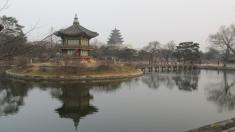 Palacio imperial en Seúl, Corea del Sur