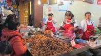 Dulces tradicionales en Chongqing, China