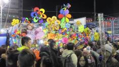 Mercado callejero de año nuevo chino en Hong Kong (Yuen Long)