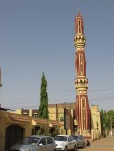 Otra mezquita muy llamativa en la capital de Sudán, país regido por la ley islámica.
