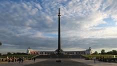 """Monumento a la victoria en la segunda guerra mundial. """"Parque de la Victoria"""""""