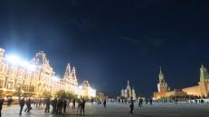 Plaza Roja de noche