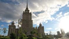 """El hotel Ucrania, otra de las """"Siete hermanas"""" de Stalin"""