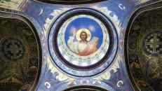 Cúpula ceetral de la Catedral de Novocherkask