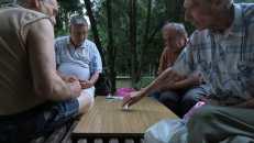 Partido de dominó en Rostov del Don