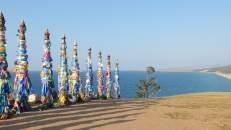 """Shamanka"", centro energético de la Isla Olkhon, lago Baikal"