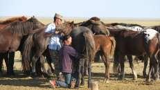 Camino Choyr-Mandalgobi, Mongolia