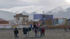 Ciudad de Ulgii, noroeste de Mongolia. Capital de la provincia Bayan-Ulgii