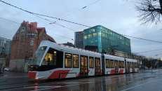 Los modernos tranvías de Tallinn