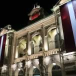 Teatro Nacional de Riga, donde se declaró la independencia.