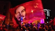 Festejos por el centenario de la Revolución Rusa en San Petesburgo