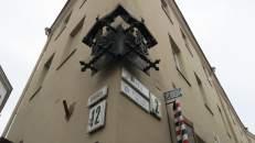 Las calles de Vilna, con los antiguos nombres en hebreo, que indicaban que allí vivían sólo judíos.