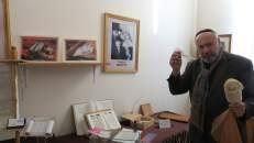 Dentro de la sinagoga moderna de Birobidzhán, Rusia