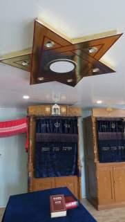 """El interior de la sinagoga de los """"tradicionalistas"""" en Birobidzhán, Rusia"""