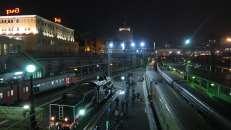 Estaciones de trenes de vladivostok, Rusia.