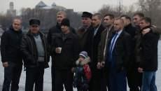 Celebración de un casamiento en San Petesburgo, Rusia